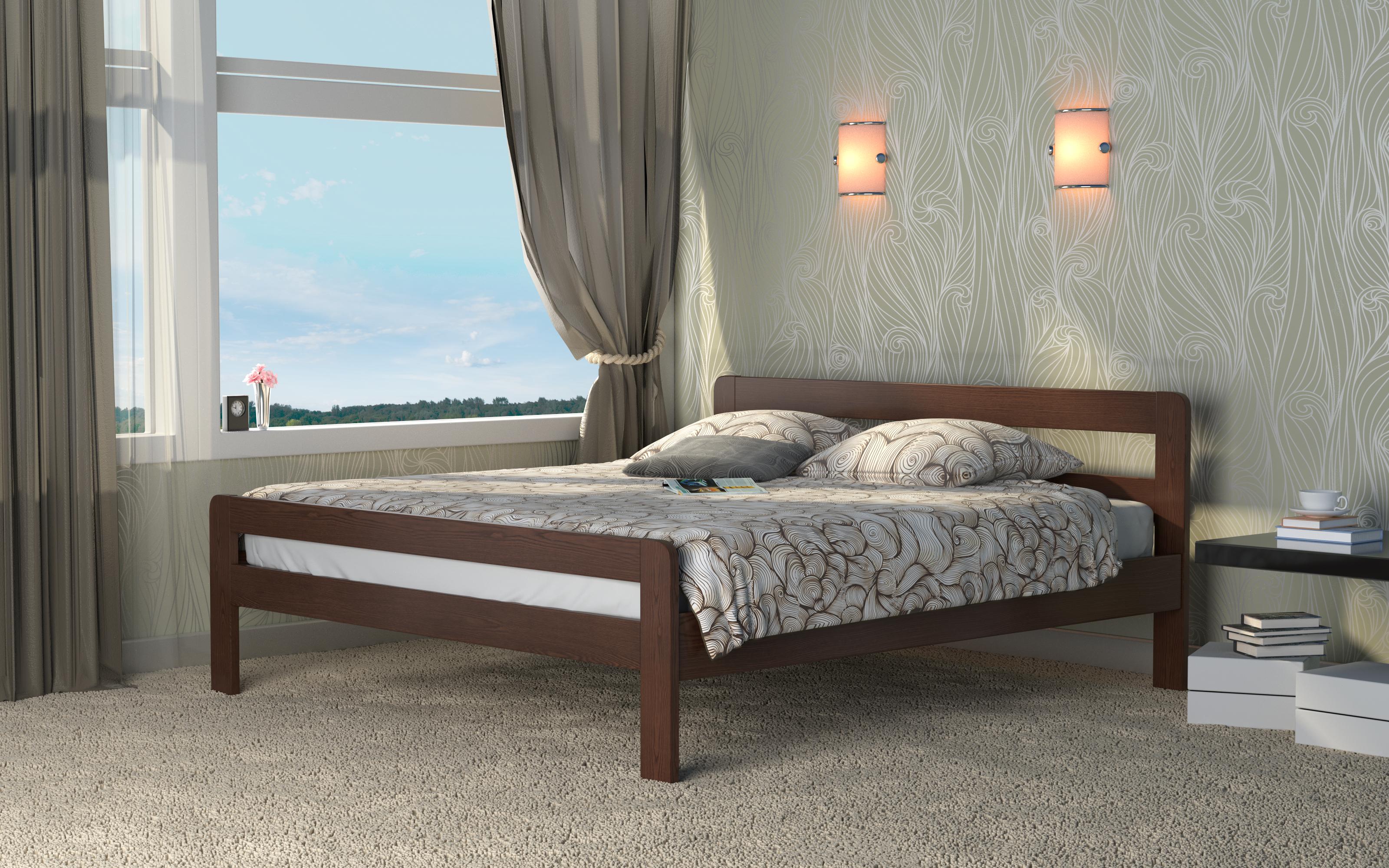 Кровать DreamLine Кредо (Ясень) Кровать Кредо (Ясень) фото