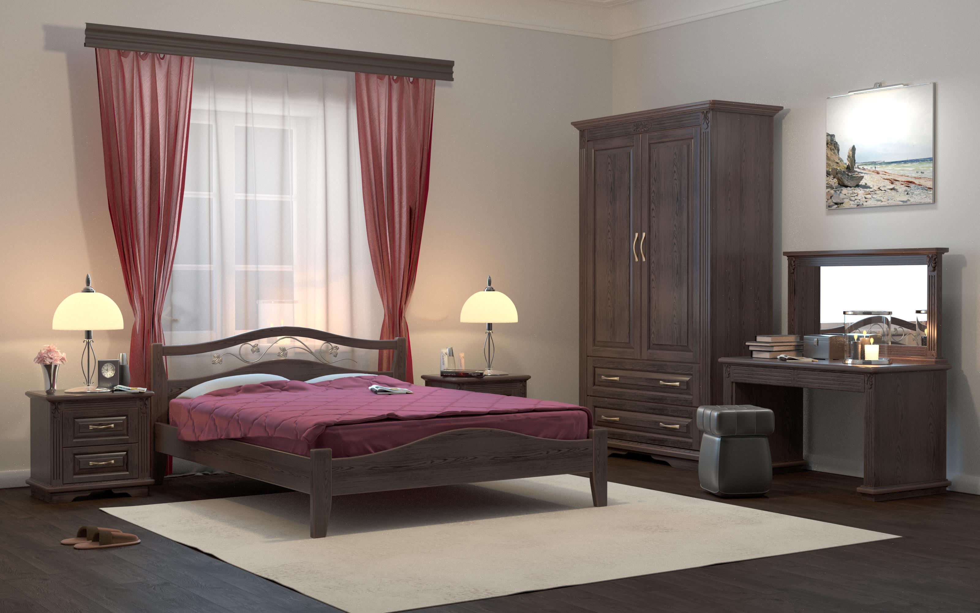 Кровать DreamLine Верона 1 (Ясень) Кровать Верона 1 (Ясень) фото