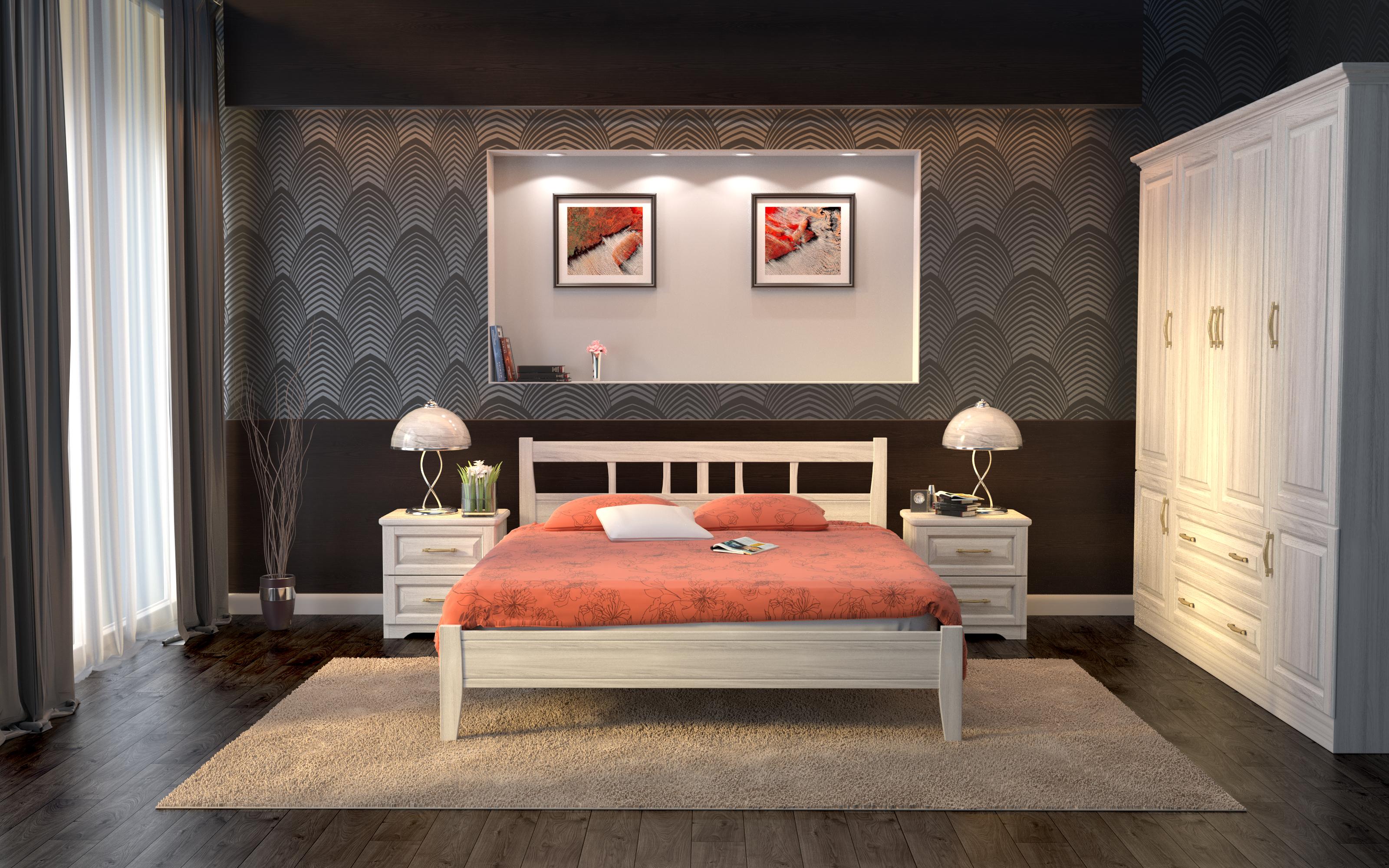 Кровать DreamLine Лагуна 1 (Бук) Кровать Лагуна 1 (Бук) фото