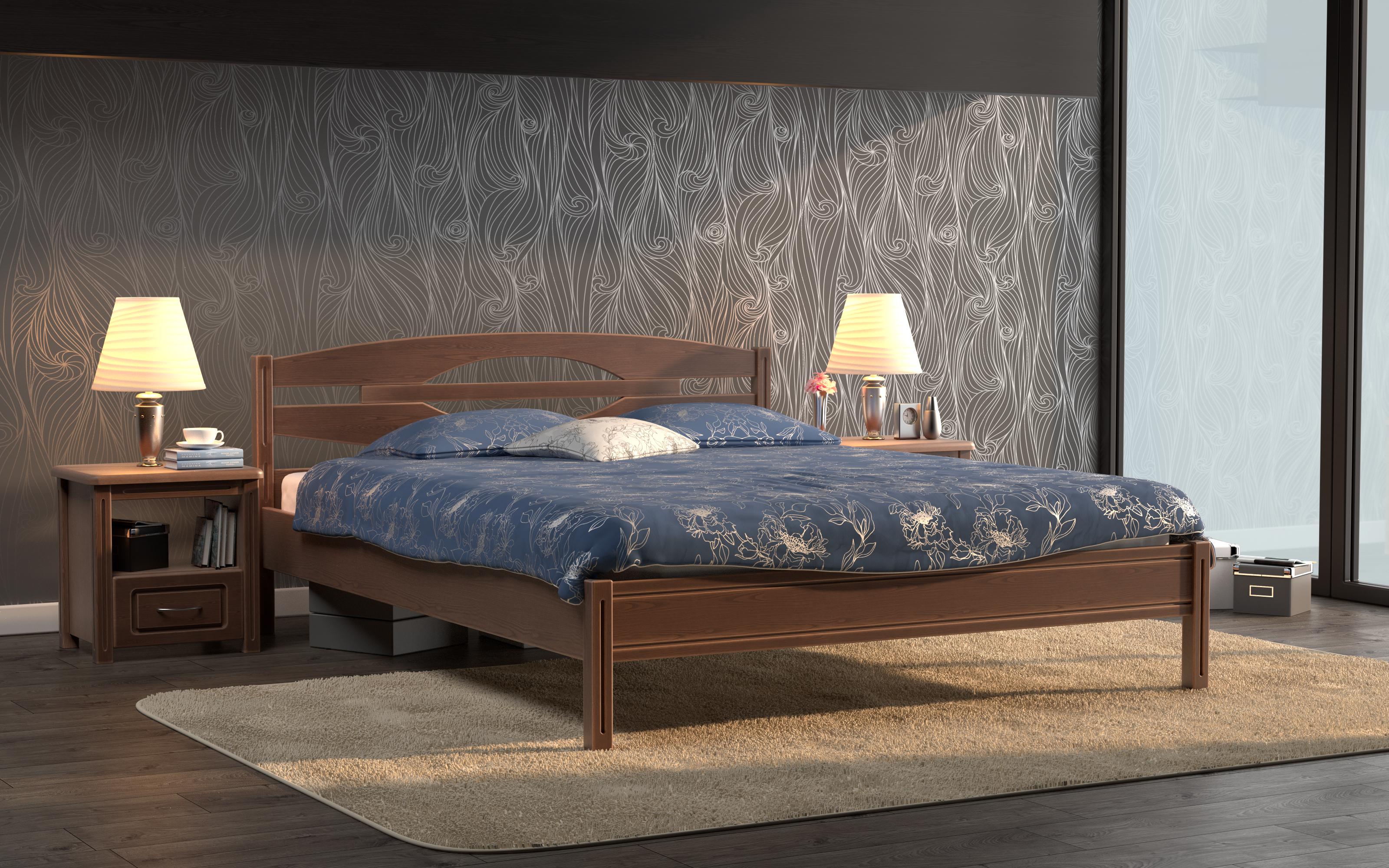 Кровать DreamLine Валенсия (Бук) Кровать Валенсия (Бук) фото