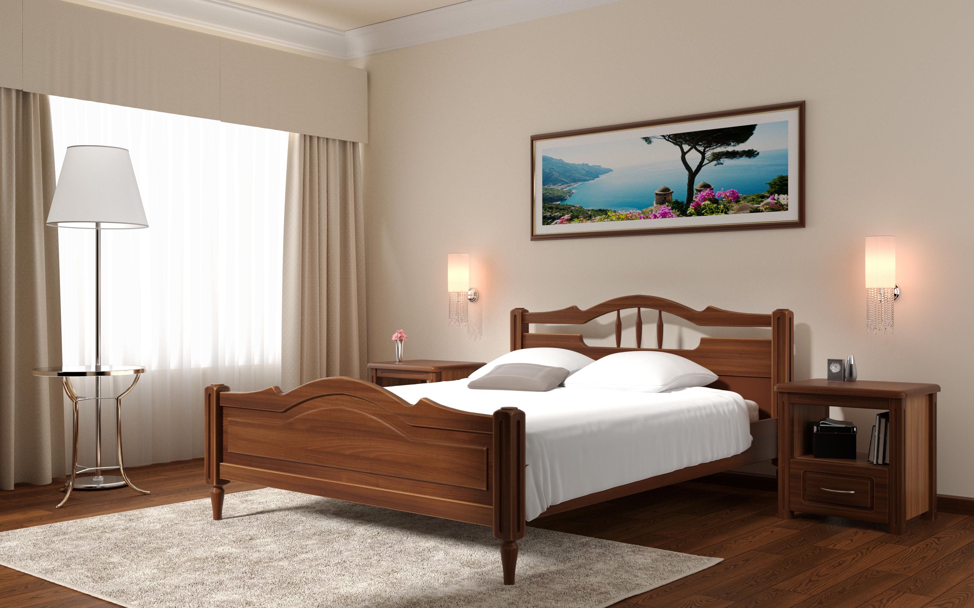Кровать DreamLine Луиза (Бук) Кровать Луиза (Бук) фото