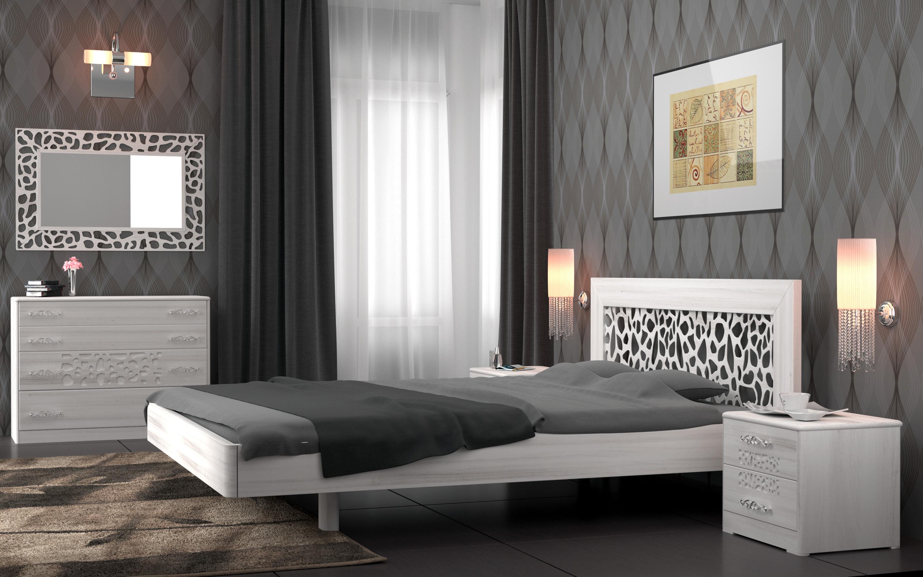 Кровать DreamLine Веро (Бук) Кровать Веро (Бук) фото