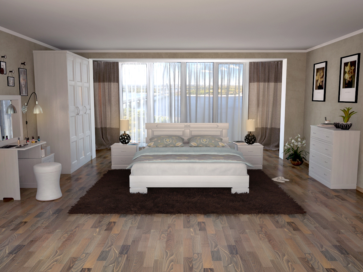Кровать DreamLine Варна (Ясень) Кровать Варна (Ясень) фото