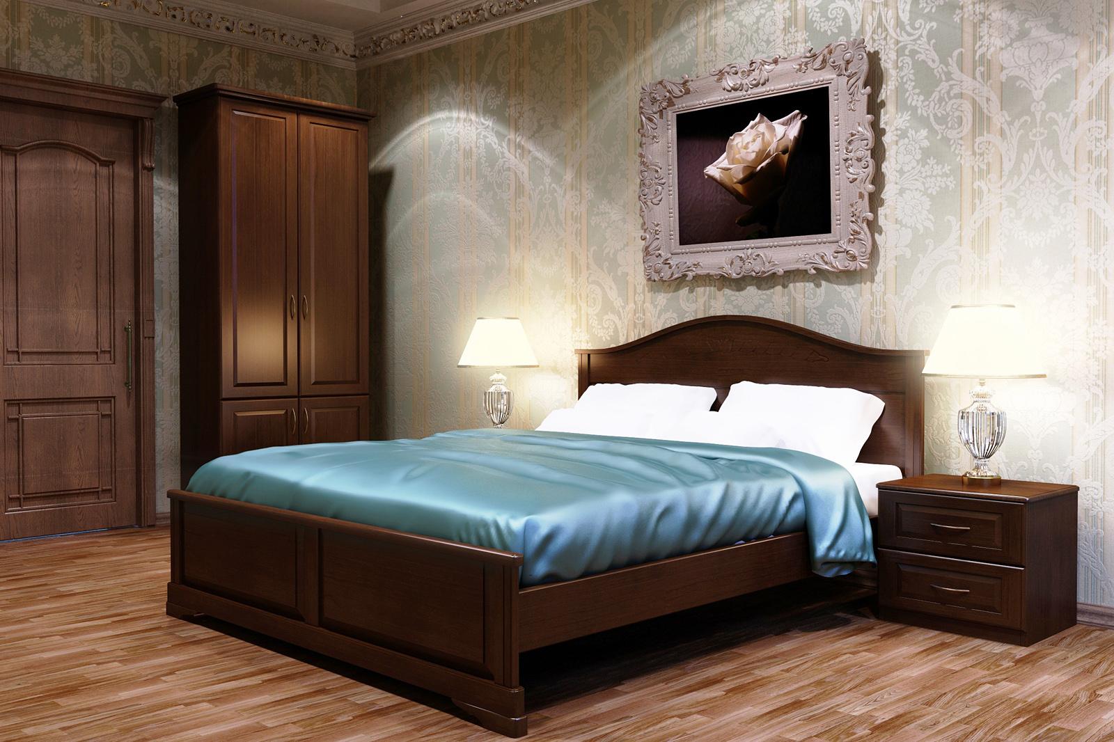 Кровать DreamLine Эдем 1 (Ясень) Кровать Эдем 1 (Ясень) фото