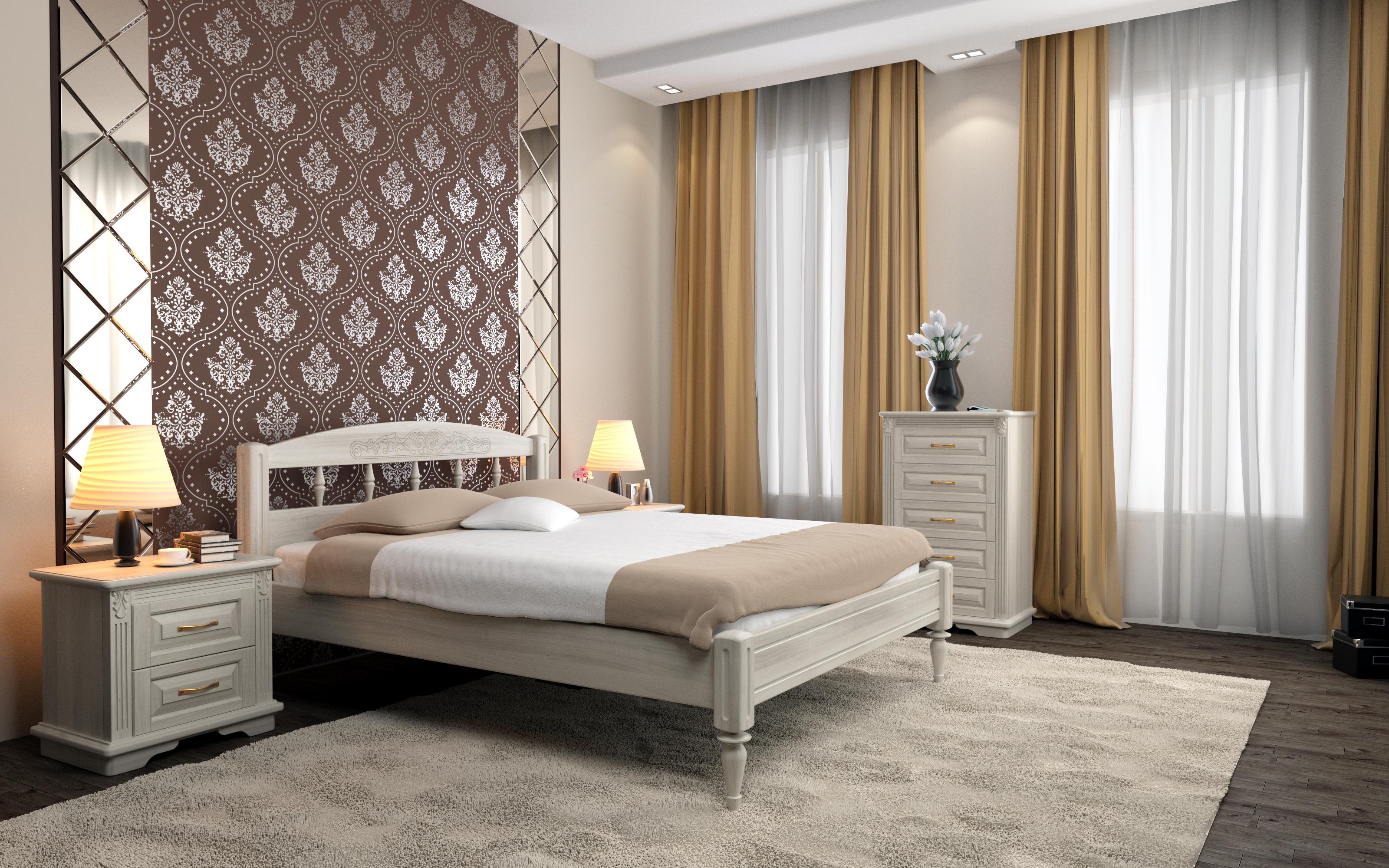 Кровать DreamLine Флоренция 1 (Ясень) Кровать Флоренция 1 (Ясень) фото