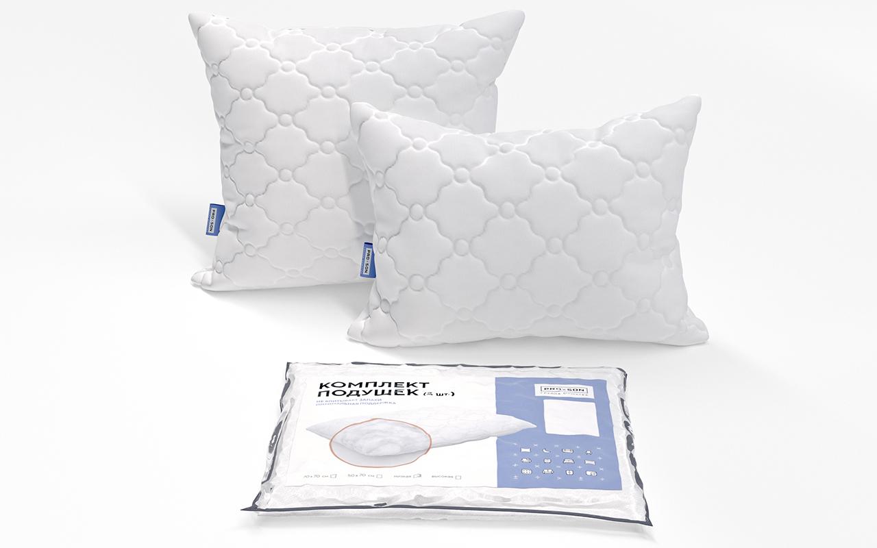 Комплект подушек низкие PROxSON ComPack