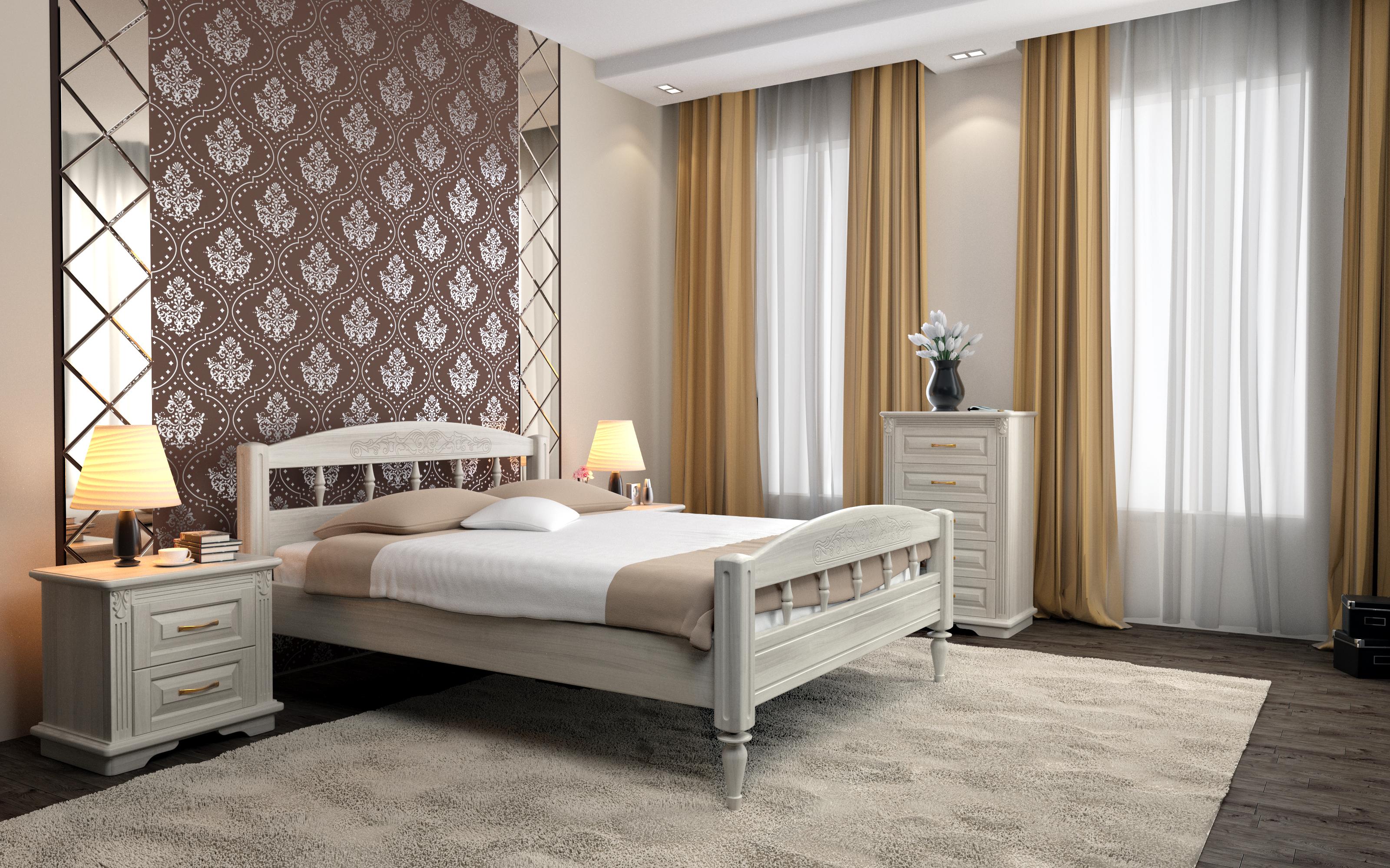 Кровать DreamLine Флоренция (Ясень) Кровать Флоренция (Ясень) фото