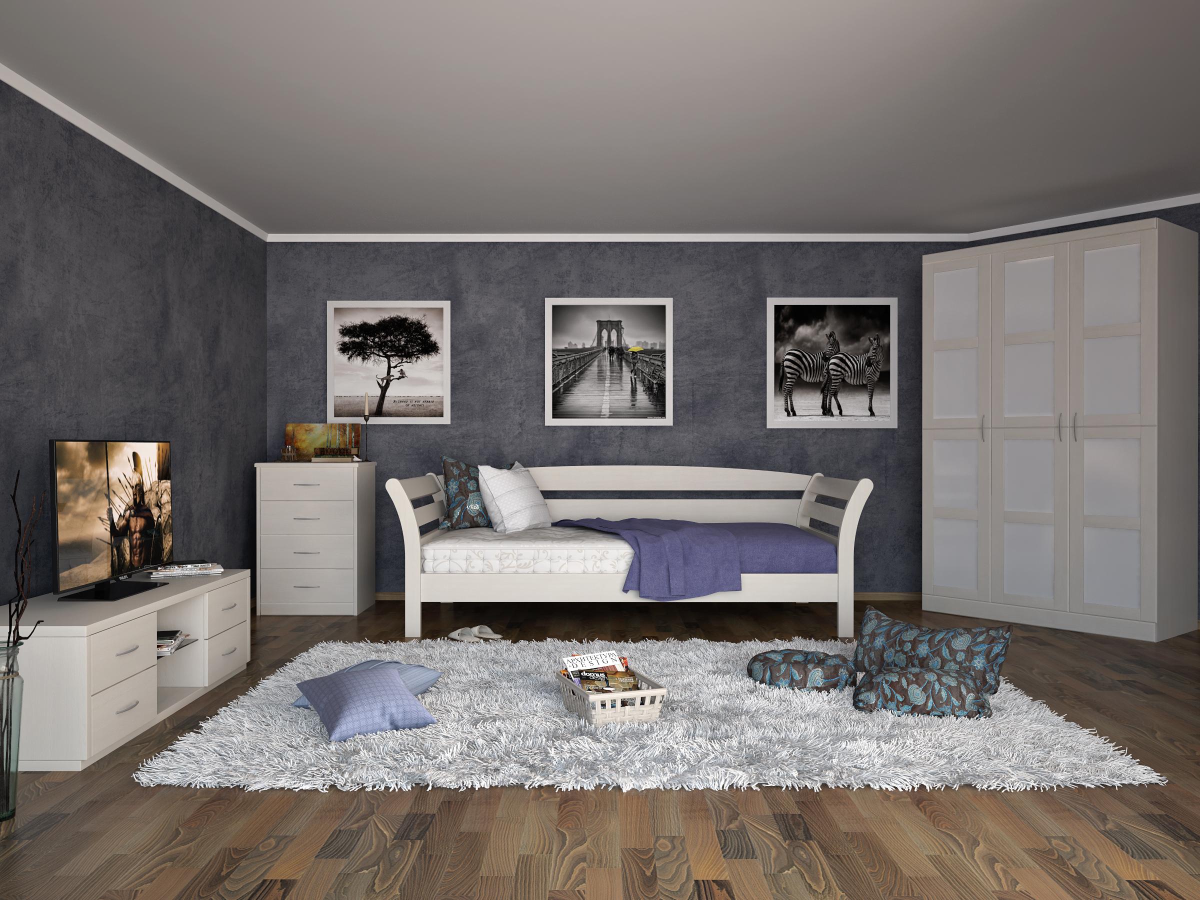 Кровать DreamLine Бриз (Ясень) Кровать Бриз (Ясень) фото