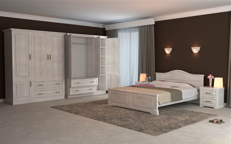 Кровать DreamLine Эдем (Ясень) Кровать Эдем (Ясень) фото