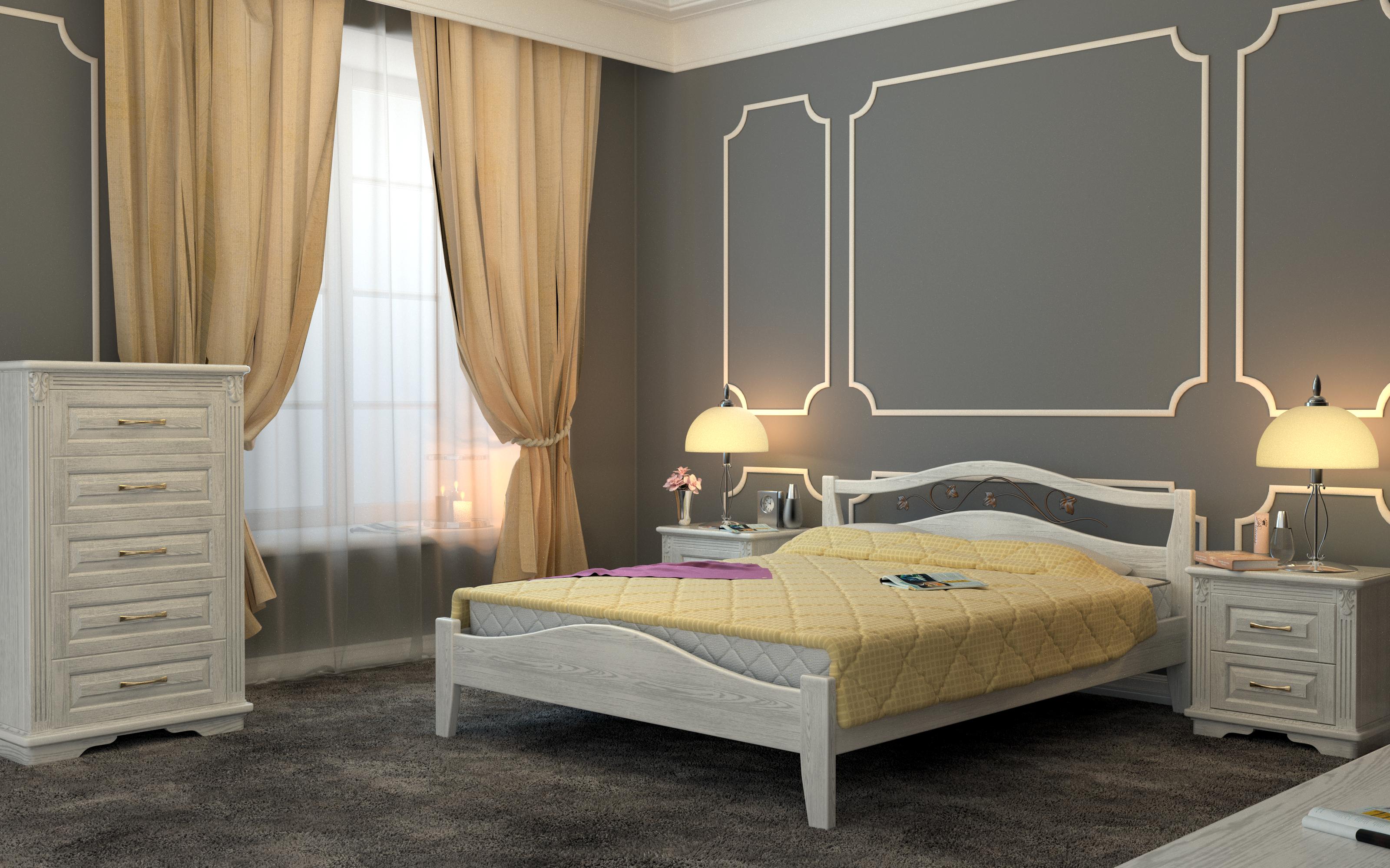 Кровать DreamLine Верона 1 (Бук) Кровать Верона 1 (Бук) фото