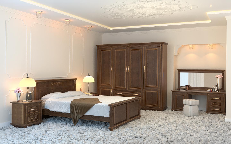 Кровать DreamLine Палермо (Бук) Кровать Палермо (Бук) фото