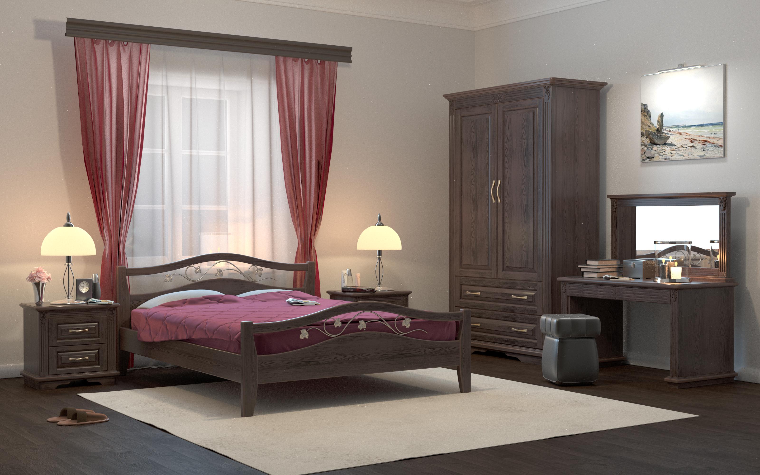 Кровать DreamLine Верона (Ясень) Кровать Верона (Ясень) фото